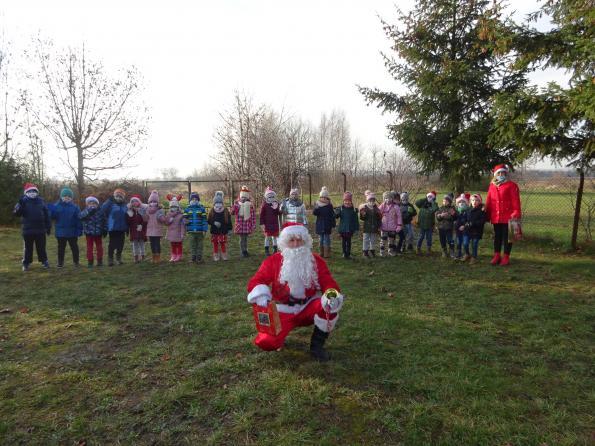 Wizyta Świętego Mikołaja