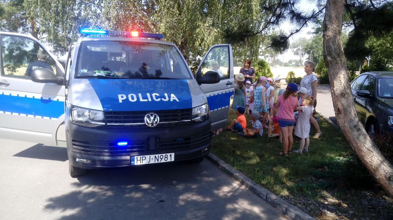 Jestem bezpieczny podczas wakacji... - spotkanie z Policjantem