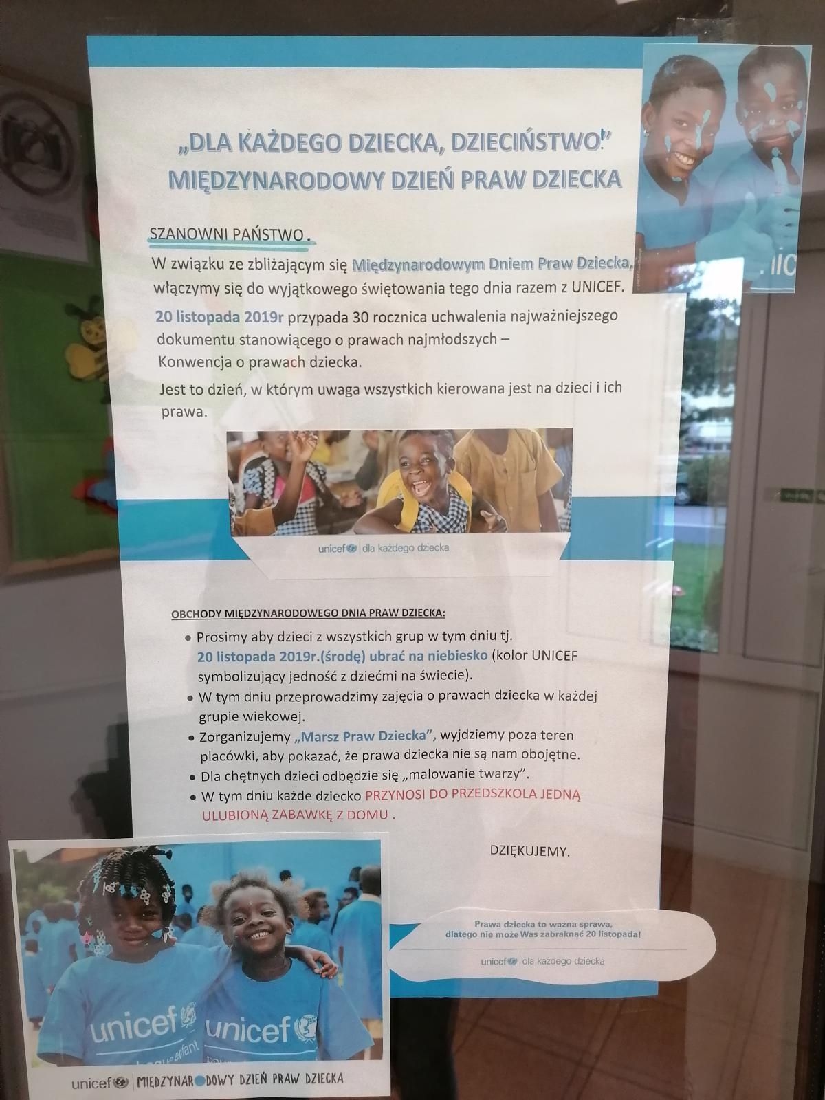 Obchody Międzynarodowego Dnia Praw Dziecka