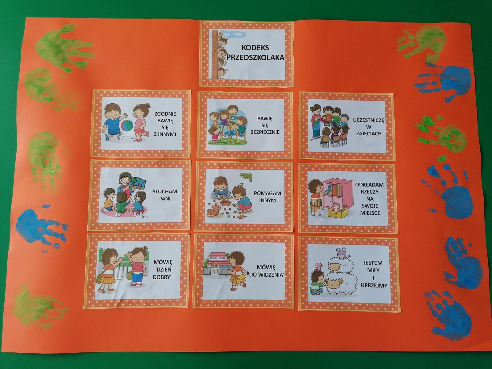 Biedronki ustalają swój kodeks przedszkolaka