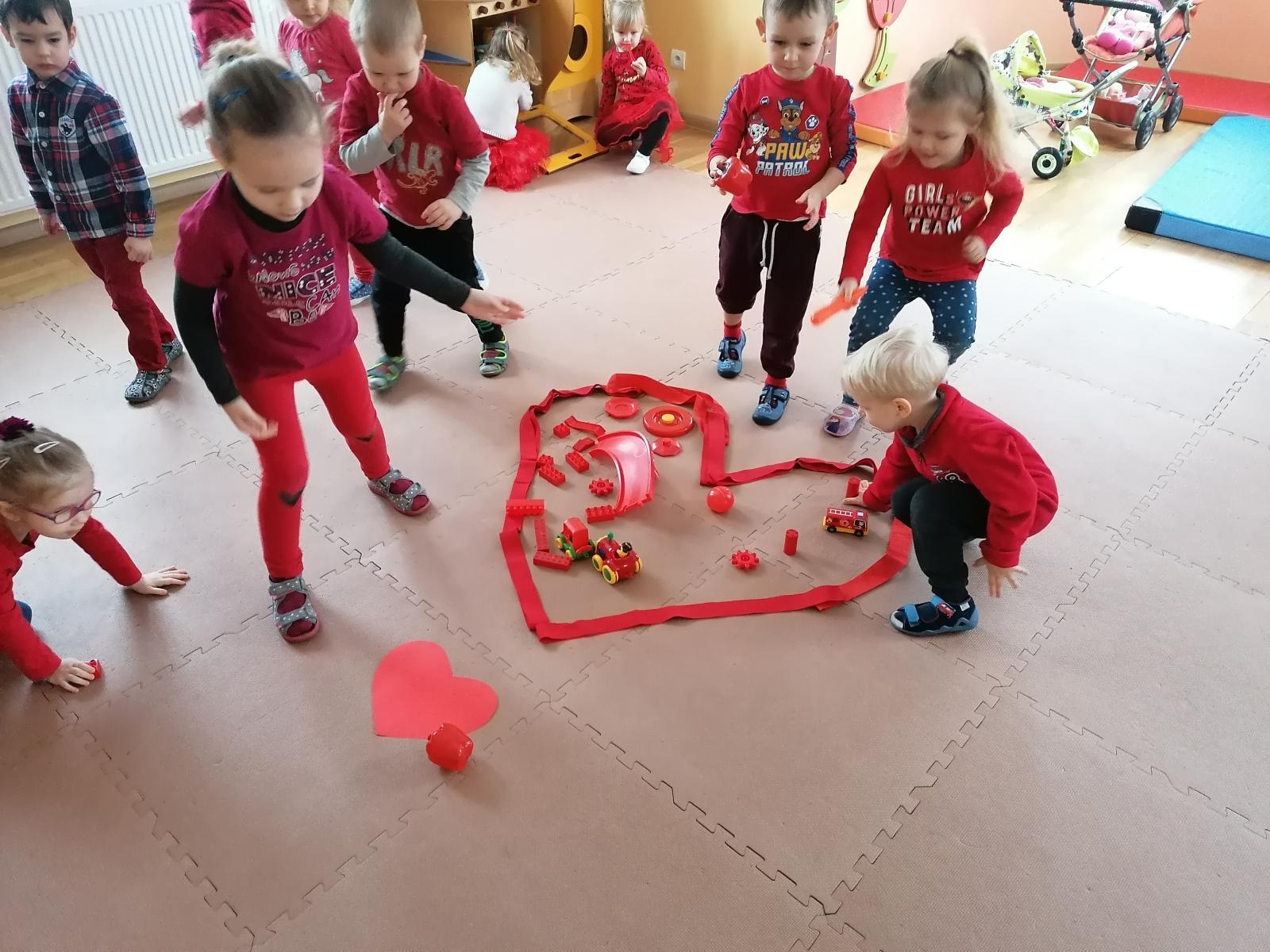 Serduszkowe Święto czyli Dzień Przyjaźni w przedszkolu