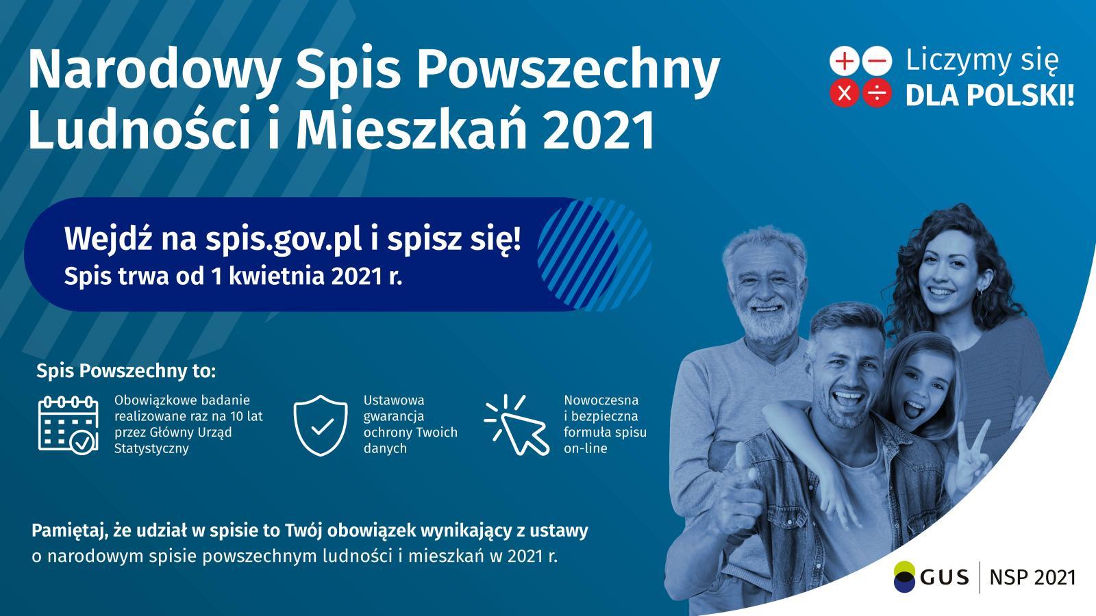 Narodowy Spis Powszechny w 2021
