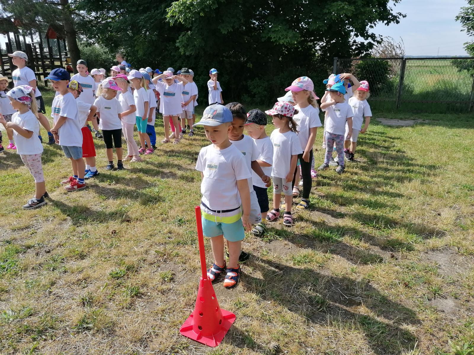 Olimpiada sportowa przedszkolaków