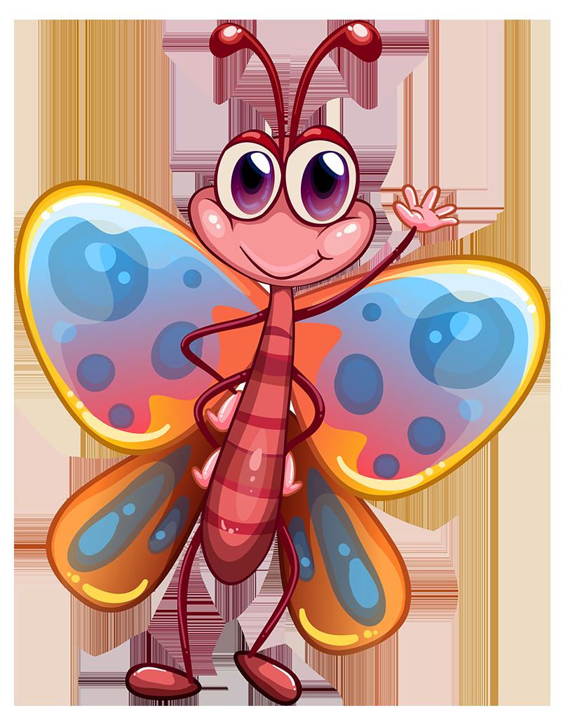 grupa przedszkolaków - motylki